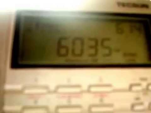 6.035 khz Music in Bhutan Broadcasting Service - BHUTAN