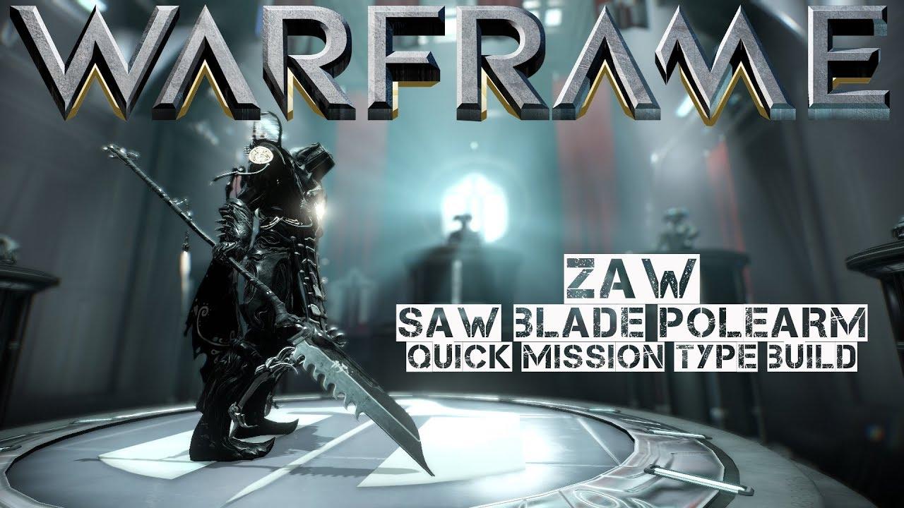Zaw Building Warframe