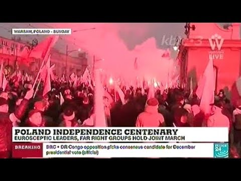 """""""Far Right Nationalists March Through Warsaw"""""""