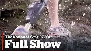 The national for wednesday september 27th: high tech limbs, bombardier fight, white in america