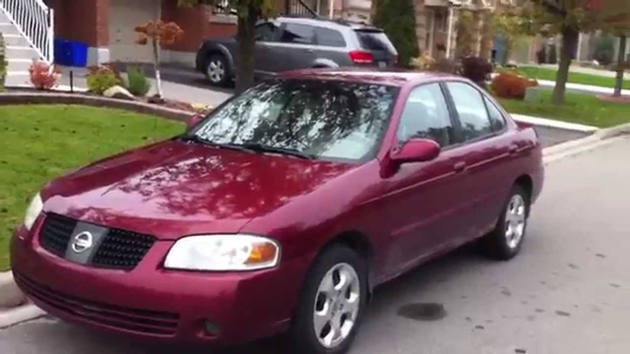 2004 Nissan Sentra 1.8 Startup Engine & In Depth Tour - YouTube