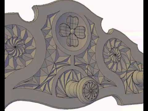Perchero gotico de 3 pomos para tallar en madera www - Percheros de pared originales ...