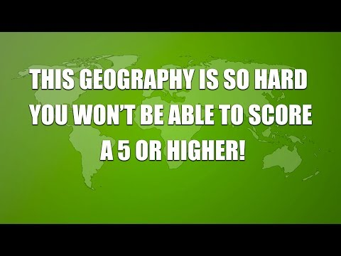 Hard Geography Quiz - 10 hard questions