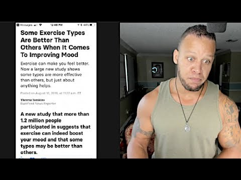 [Study] Group Exercise Is The Most Effective Mood Booster