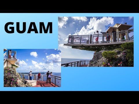 GUAM, the romantic TWO LOVERS POINT (Pacific Ocean)