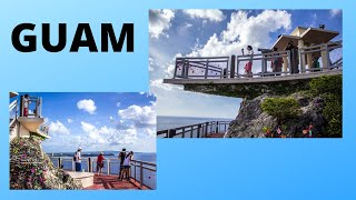 The romantic TWO LOVERS POINT in Guam (Pacific Ocean)