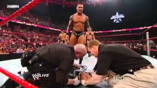 Randy Orton Attacks Stephanie McMahon