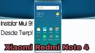 Instalar ROM Stock Desde TWRP en Xiaomi Redmi Note 4