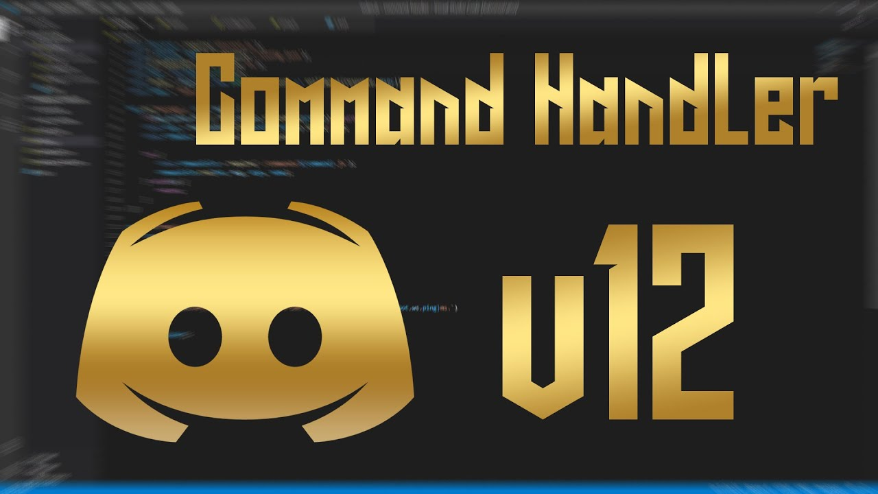 Command Handler Discord.js@12.2.0 | How to make a bot in ...