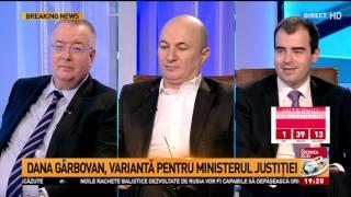 Dana Grecu, către Codrin Ștefănescu: Dacă vă simțiți jignit, ridicați-vă și plecați