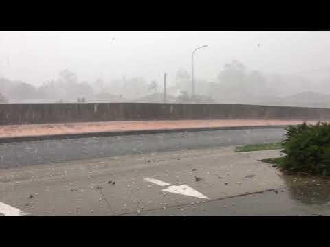 Gold Coast hail storm - 22/12/18