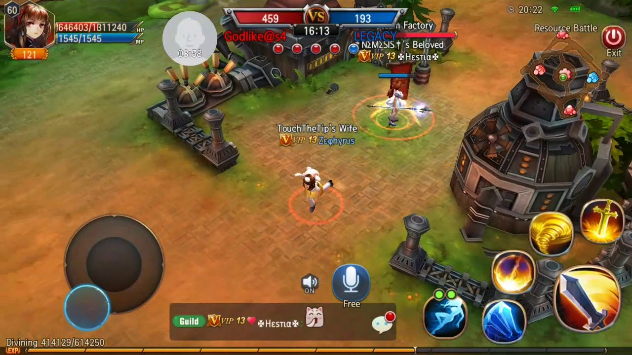Godlike VS LEGACY 2016-05-02 SM PoV Resource Battle Sword of Chaos
