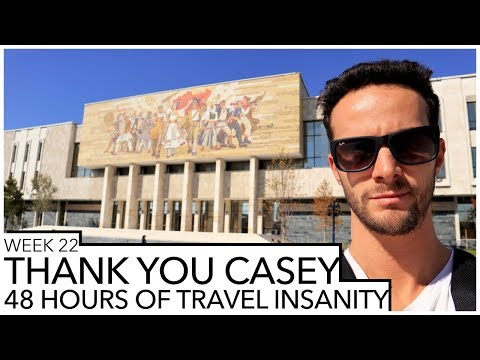 48 HOURS OF TRAVEL INSANITY - THANK YOU CASEY || Week #22 || PETER SZANTO