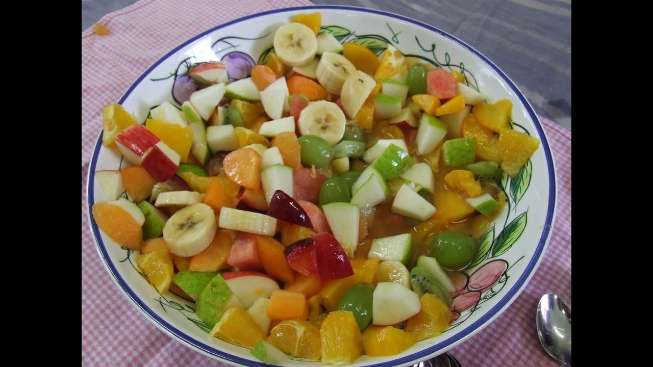 Фруктовый салат # Диетический  Десерт.