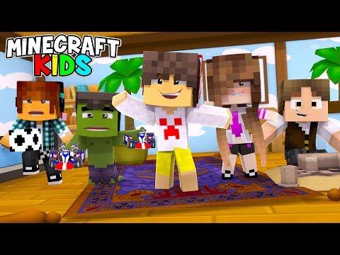 Minecraft Kids #01 - VIRAMOS CRIANÇAS !!! ( SÉRIE NOVA )