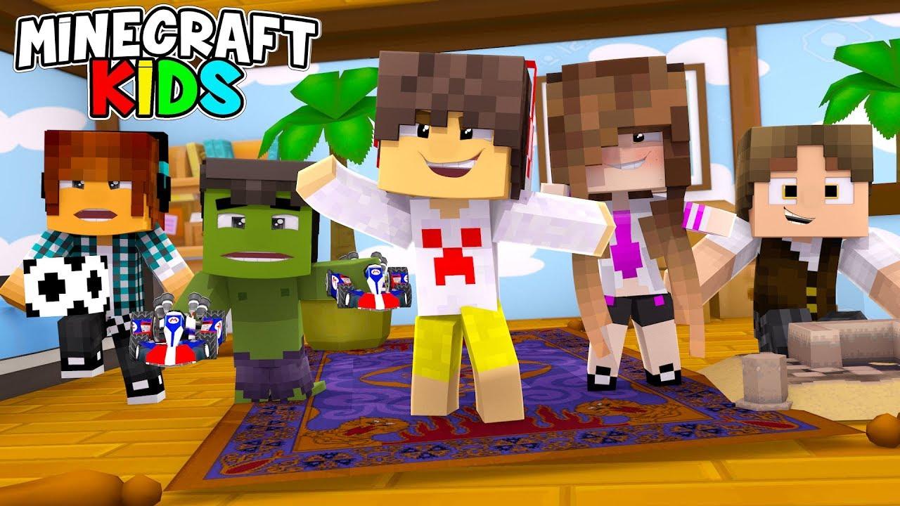 Minecraft Kids #11 - VIRAMOS CRIANÇAS !!! ( SÉRIE NOVA )