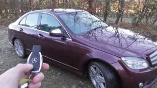 Mercedes C Class W204 Folding Wing Mirrors How To Activate