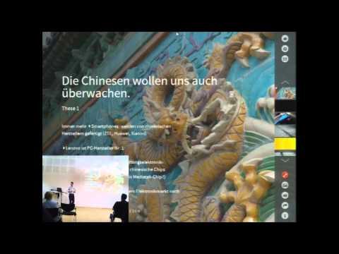 Internet 2025: Kalter Cyberkrieg - Michael Brendel auf dem Barcamp Ems 2015