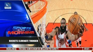 NBA Playoffs: Rockets Eliminate Thunder