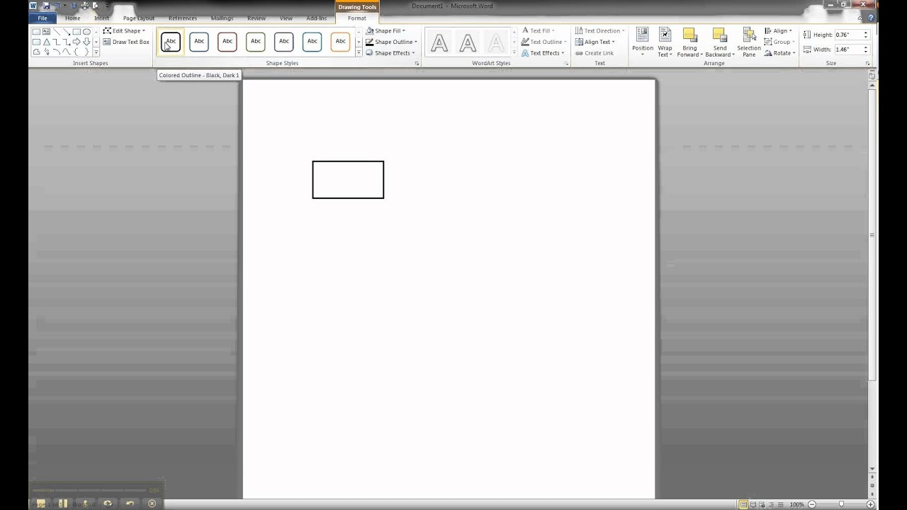 ER Diagram in MS Word Part 1  Creating A Strong Entity