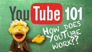 YouTube 101 - Professor Puppet Explains YouTube