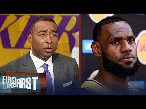 Cris on LeBron having to prove himself to Lakers fans: 'It's insulting' | NBA | FIRST THINGS FIRST