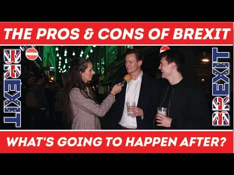 🇬🇧 Brexit What's Going to Happen After !? 🇪🇺 ⚖️ The Pros & Cons of Brexit | London Street Interviews
