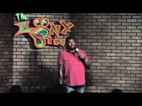 Louis Johnson at the Tulsa Loony Bin