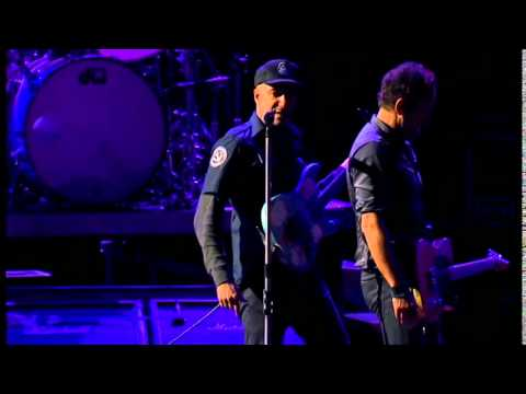 The ghost of tom joad & The rising -pro shot dallas- Bruce springsteen & Tom morello
