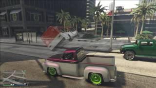 GTA ONLINE - Баги,приколы #11