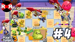 Plants vs Zombies 3 - FLOOR 9 - iOS / Android Gameplay Part 4