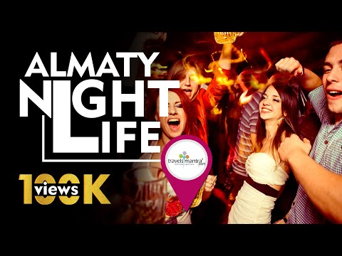 Almaty Nightlife, Kazakhstan