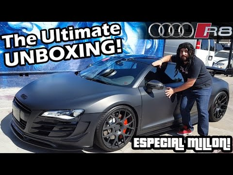 THE ULTIMATE UNBOXING | AUDI R8 | ESPECIAL MILLÓN