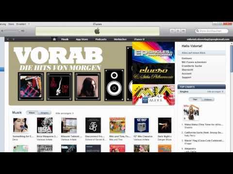 Mit dem iTunes Player Musik verwalten [2/2]