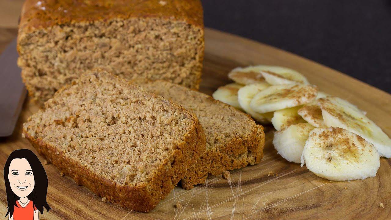 Gluten Free Banana Bread Vegan Recipe No Eggs Dairy Or