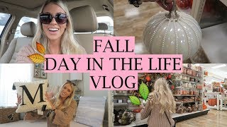 Fall Decor Shopping & Haul! 2017 | Home Goods Shop With Me | Day in the life vlog! | Erica Lee