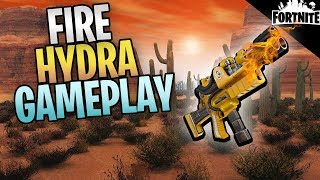 FORTNITE - Level 130 Fire Hydra Assault Rifle Gameplay (Easiest Mission For XP)
