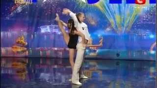 UKRAINE'S GOT TALENT 2013 | AMAZING DANCE DUO