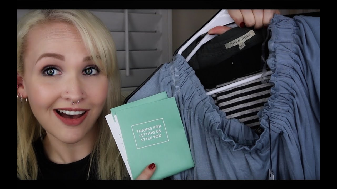 acf001a1b72 STITCH FIX UNBOXING AND TRY ON || May 2018 - YouTube