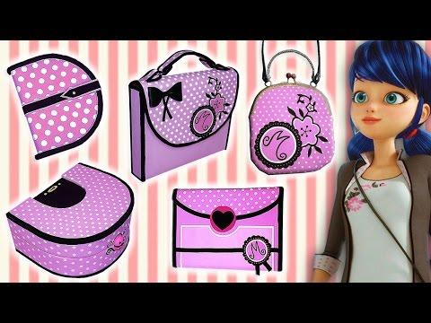 ♥ 5 Manualidades Paso a Paso de Marinette (Miraculous Ladybug) Compilation ♥