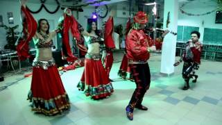 Видеограф Андрей Литвин) Свадьба зимой на Рождество А&K)