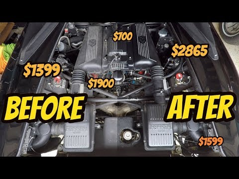 Here's Why Detailing My Ferrari Engine Was Terrifying: How To Clean