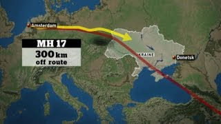 Why was MH17 flying through Eastern Ukraine?