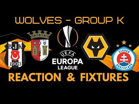 Wolves 👉 EUROPA GROUP REACTION 🏆 with Fixtures