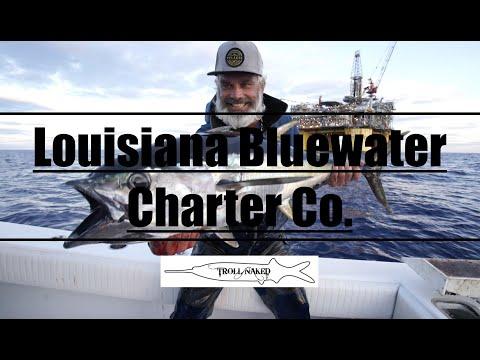 Venice Louisiana Bluewater Fishing Charter Video