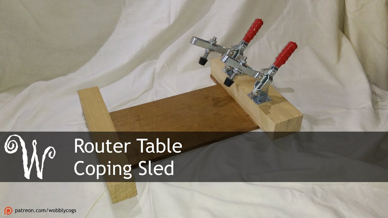 Router table coping sled youtube youtube premium greentooth Gallery