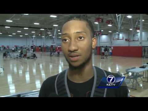 Creighton men's basketball players battle for starting point guard