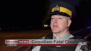 Coquitlam RCMP News Media Release Fatal Crash Lougheed Hwy April 28 2017 4K