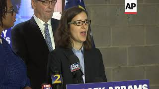 Abrams campaign says it will fight on in Ga. race