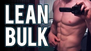 bulking or gaining muscle without getting fat